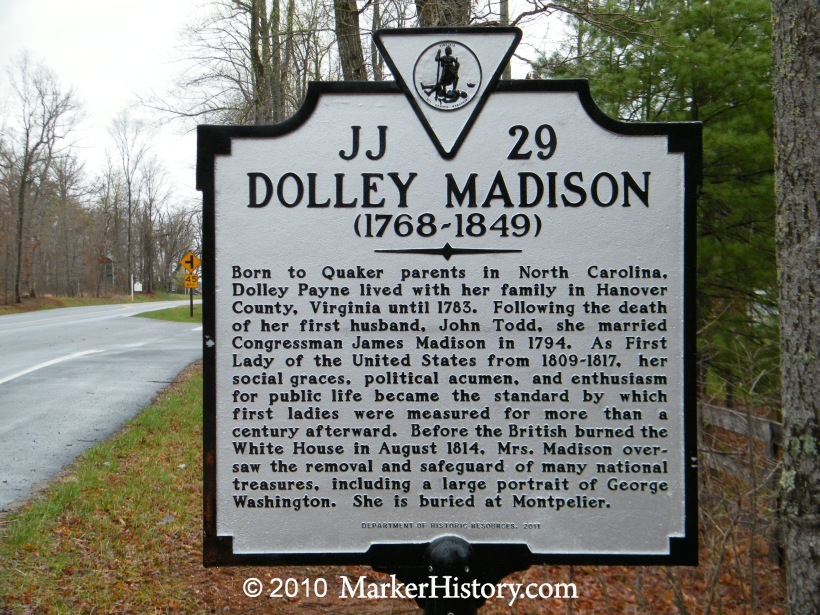 a look into life of dolley madison After they moved into their own place a couple blocks away dolley remained the social life of the party when dolley madison died on july 12.