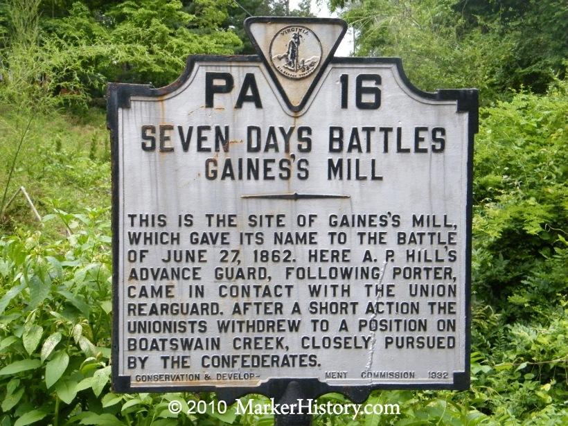 Seven Days Battles  Wikipedia